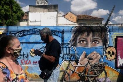 Brasil ocupa el tercer lugar del mundo en cuanto a infecciones por COVID-19, con más de 4,4 millones de casos, sólo por detrás de Estados Unidos y la India REUTERS/Pilar Olivares