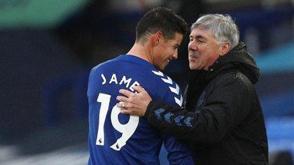 Ancelotti defiende a James y dice que su caso no se parece al de Eto'o, quien abandonó al club tras llegar como un gran fichaje