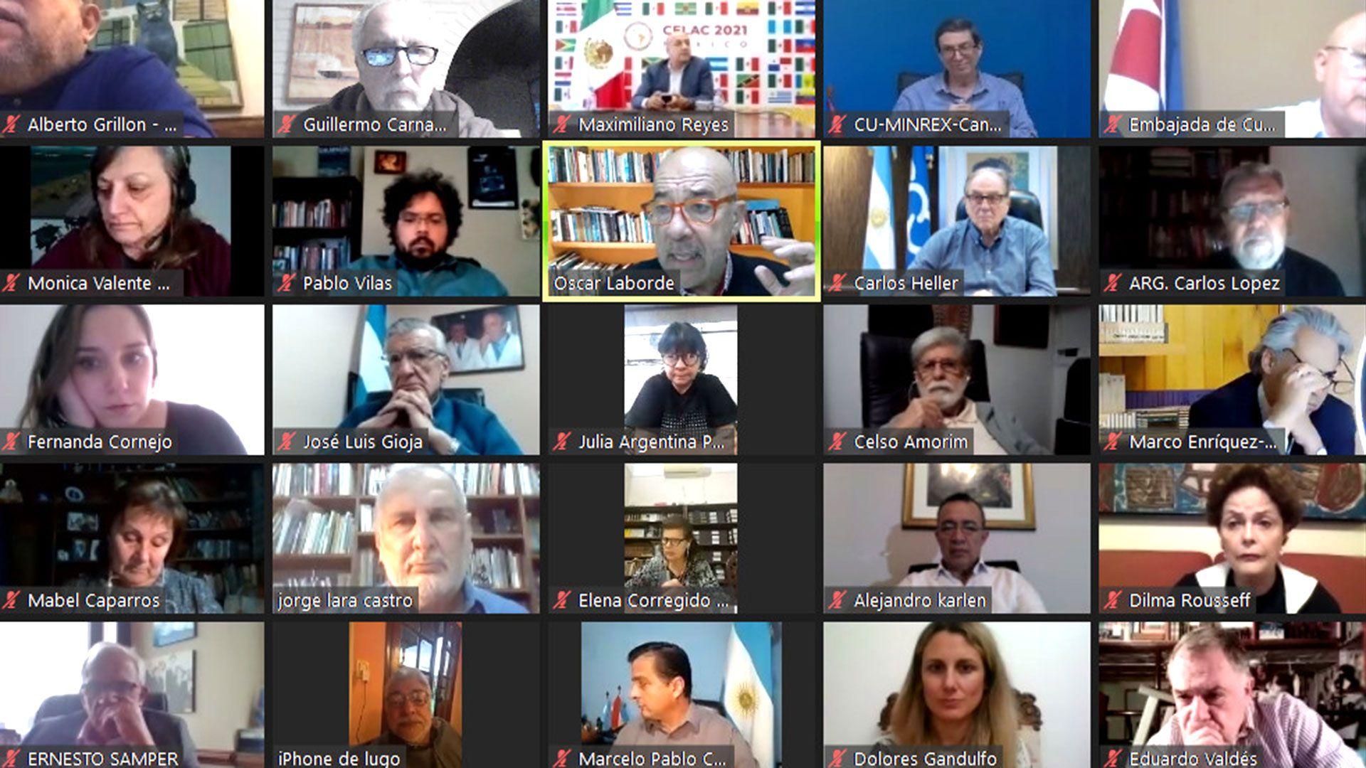 Politicos latinoamericanos expresan respaldo al regimen cubano