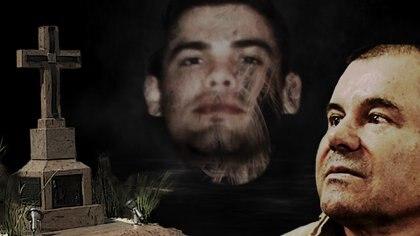 Edgar Guzmán y el Chapo (Fotoarte: Steve Allen)