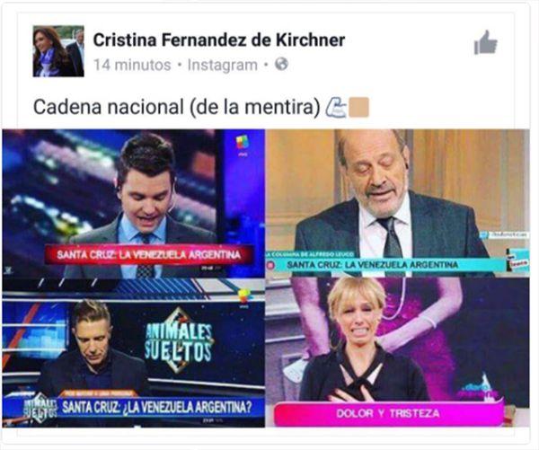Santiago del Moro estallaró en redes contra Cristina Kirchner