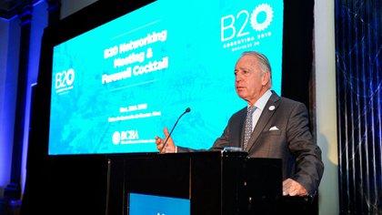 Daniel Funes de Rioja presidirá la Conferencia Industrial de la UIA