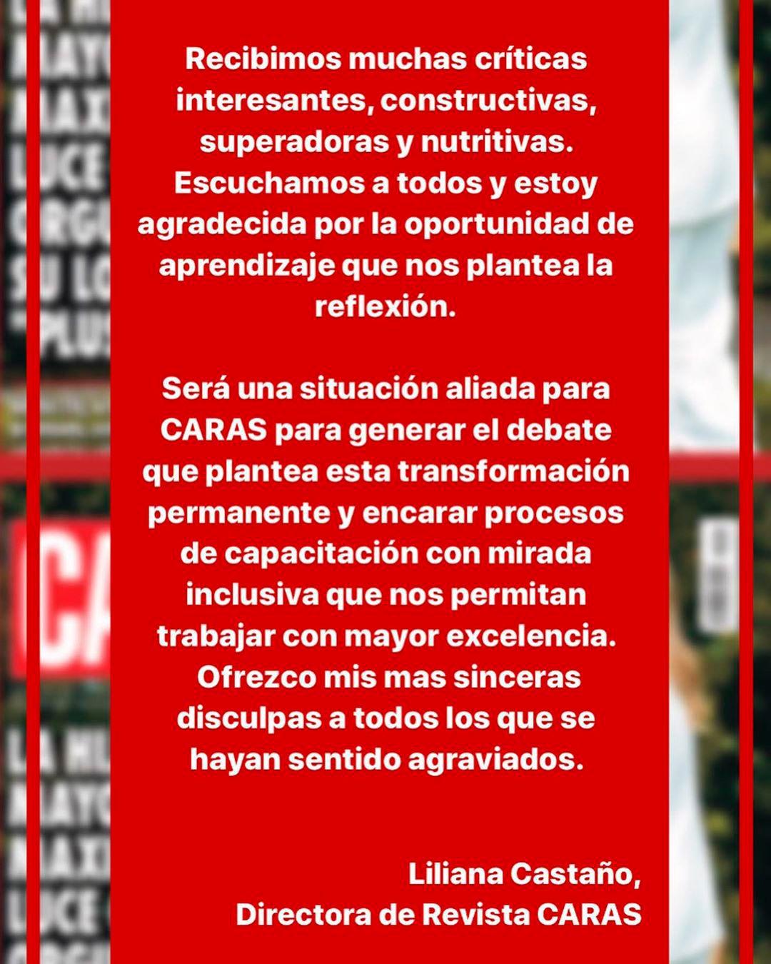 posteo de Revista Caras