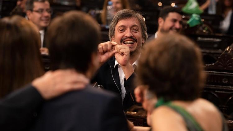 Máximo Kirchner (Adrián Escandar)