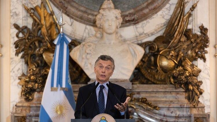 """""""Este es el camino"""", enfatizó el Jefe de Estado luego del G20 (Adrián Escandar)"""