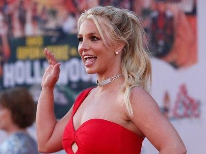 """FOTO DE ARCHIVO: Britney Spears posa en el estreno de """"Once Upon a Time In Hollywood"""" en Los Angeles, California, EEUU, 22 julio del 2019. REUTERS/Mario Anzuoni/File Photo"""
