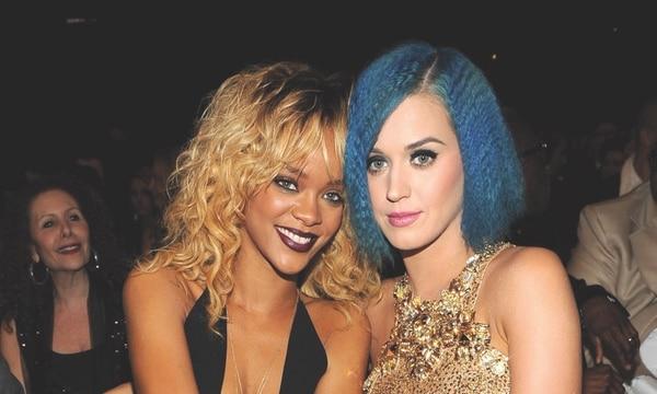 Katy Perry y Rihanna, muy amigas