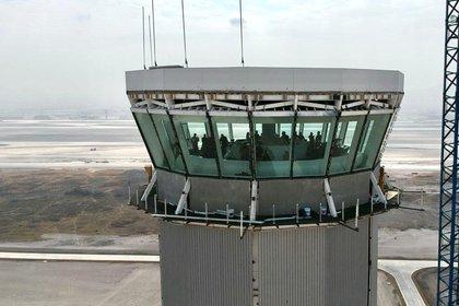 Torre de Control del Aeropuerto Internacional Felipe Ángeles (Foto: Presidencia de México)