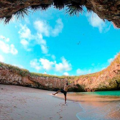 Playa Escondida (Foto: Instagram @riviera_nayarit)