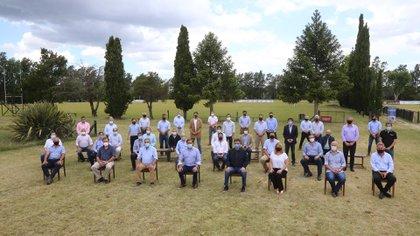 La última reunión que protagonizaron los intendentes de Juntos por el Cambio en La Plata
