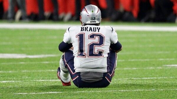 Brady fue objeto de burlas en las redes sociales