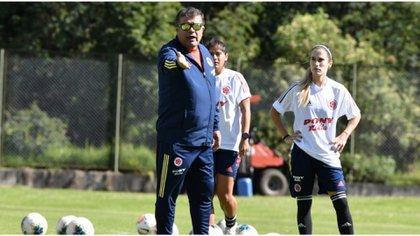 Nelson Abadía, director técnico de la selección de Colombia Femenina. -Federación Colombiana de Fútbol.