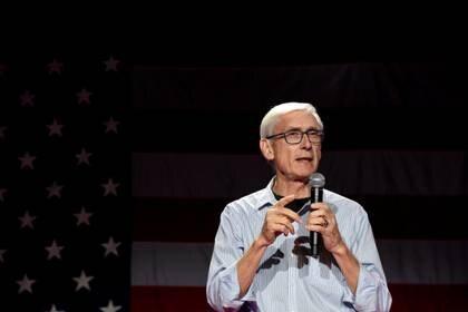 El gobernador Tony Evers (Reuters)