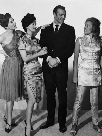 Sean Connery, como James Bond (Foto: The Grosby Group)
