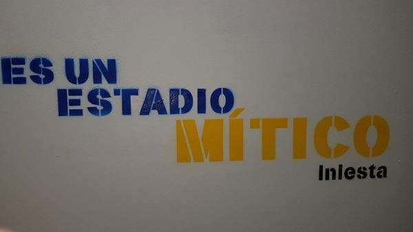 """""""Es un estadio mítico"""": Iniesta"""