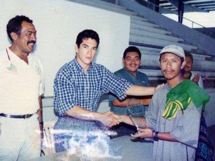 Es originario de Campeche y ha representado a su estado en la Cámara de Senadores (Foto: Facebook)