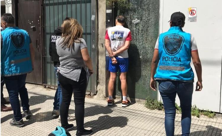 Filippa al ser detenido por la Policía de la Ciudad.
