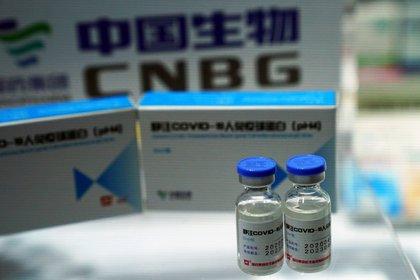 La vacuna china de Sinopharm podría llegar al país. (REUTERS/Tingshu Wang/File Photo)