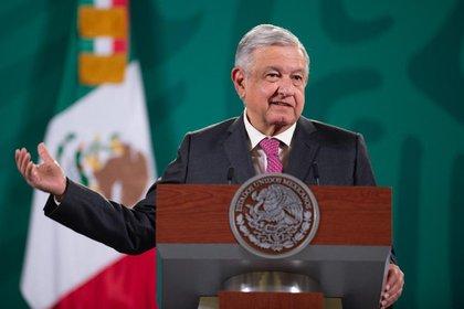 El presidente detalló que se intentará llegar a un acuerdo con los empresarios que obtuvieron los contratos. (Foto: Presidencia de México)