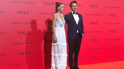 Eugenia China Suárez y Benjamín Vicuña en el evento más top de Madrid