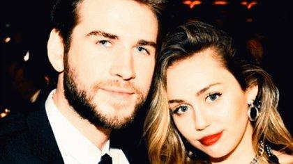 Cyrus y LIam se casaron el pasado diciembre