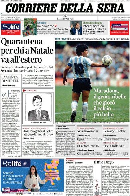 Corriere della Sera, Italia