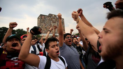 Más de 10 escuelas de la UNAM se han ido a paro por la inseguridad. (Foto: AP)