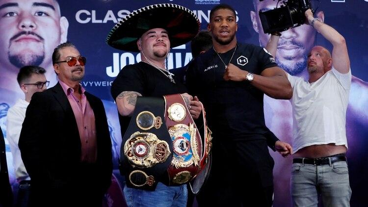 Cómo y dónde ver la pelea de Andy Ruiz Jr contra Anthony Joshua (Foto: Reuters/Peter Cziborra)