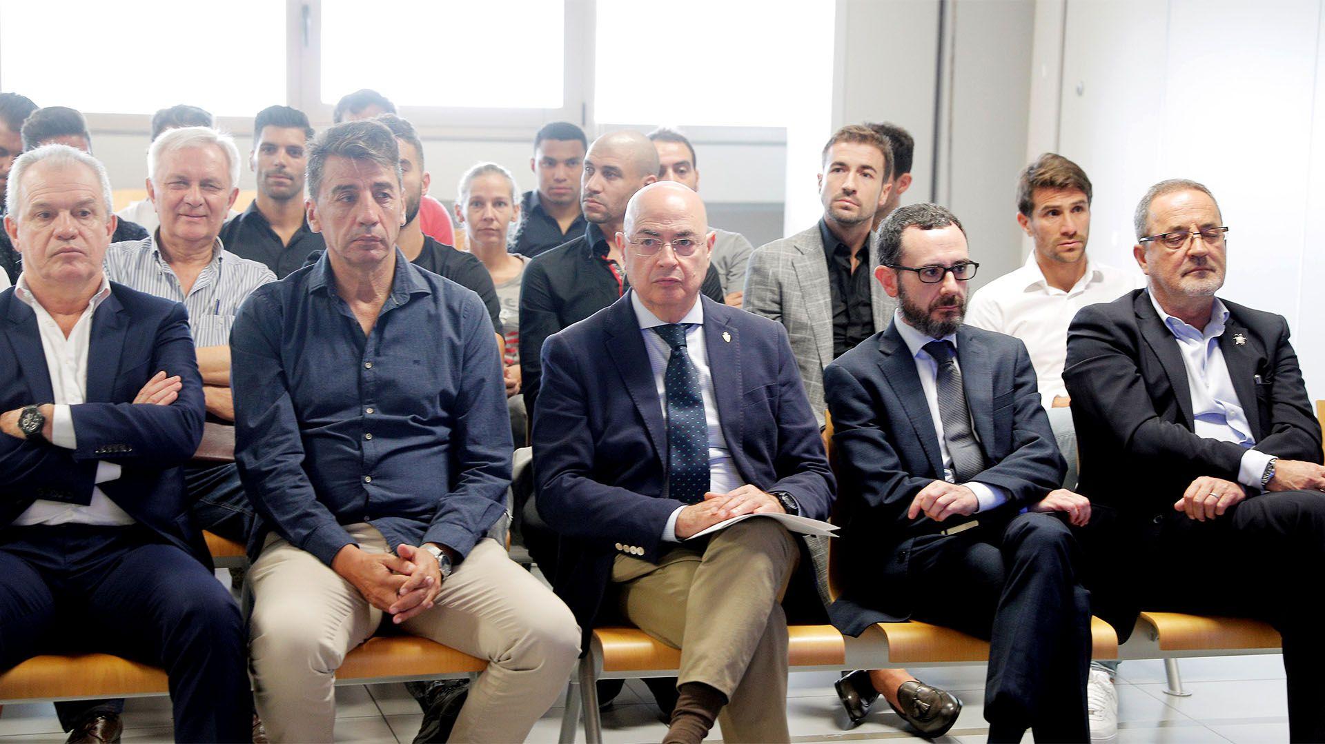 Ponzio, uno de los futbolistas acusados de recibir dinero en un supuesto partido arreglado cuando jugaba en el Zaragoza (EFE)