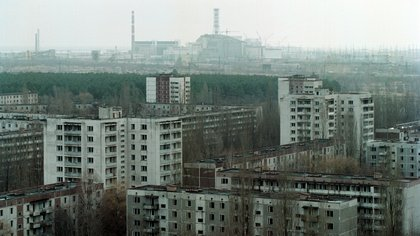 Archivo - Imagen de archivo de la zona de exclusión de Chernóbil.