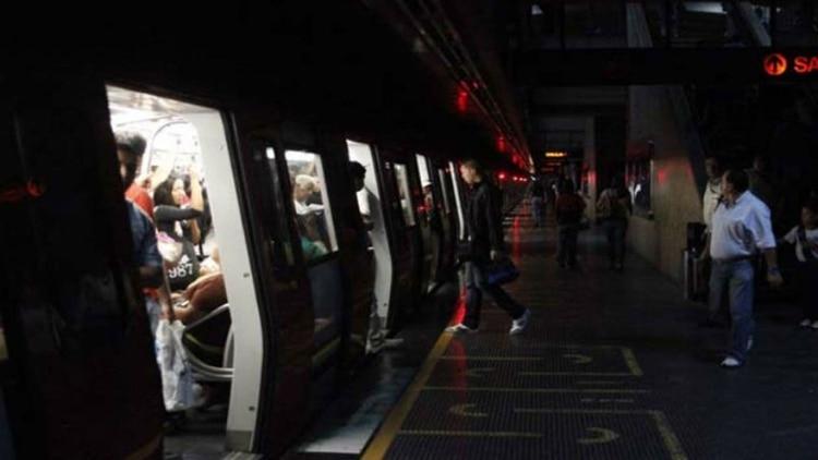 El apagón en el metro de Caracas