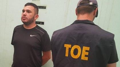 Esteban Lindor Alvarado, hoy preso, presunto jugador en el tablero de la muerte de Rosario.