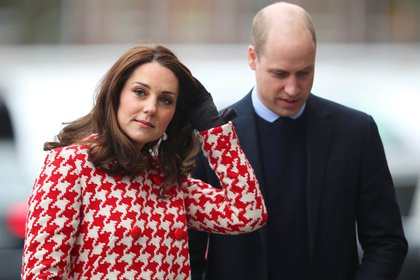El príncipe William y la duquesa de Cambridge
