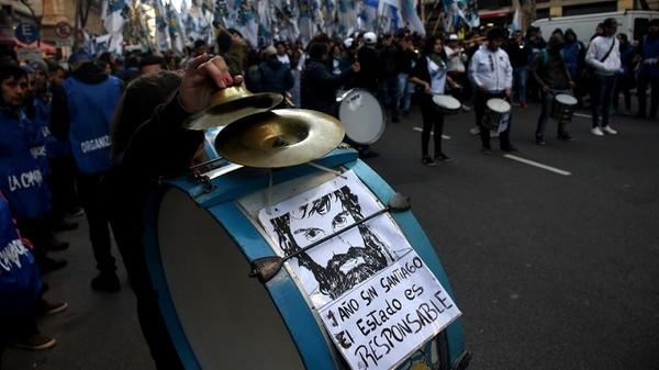 Marcha para reclamar por la muerte de Santiago Maldonado (Nicolás Stulberg)