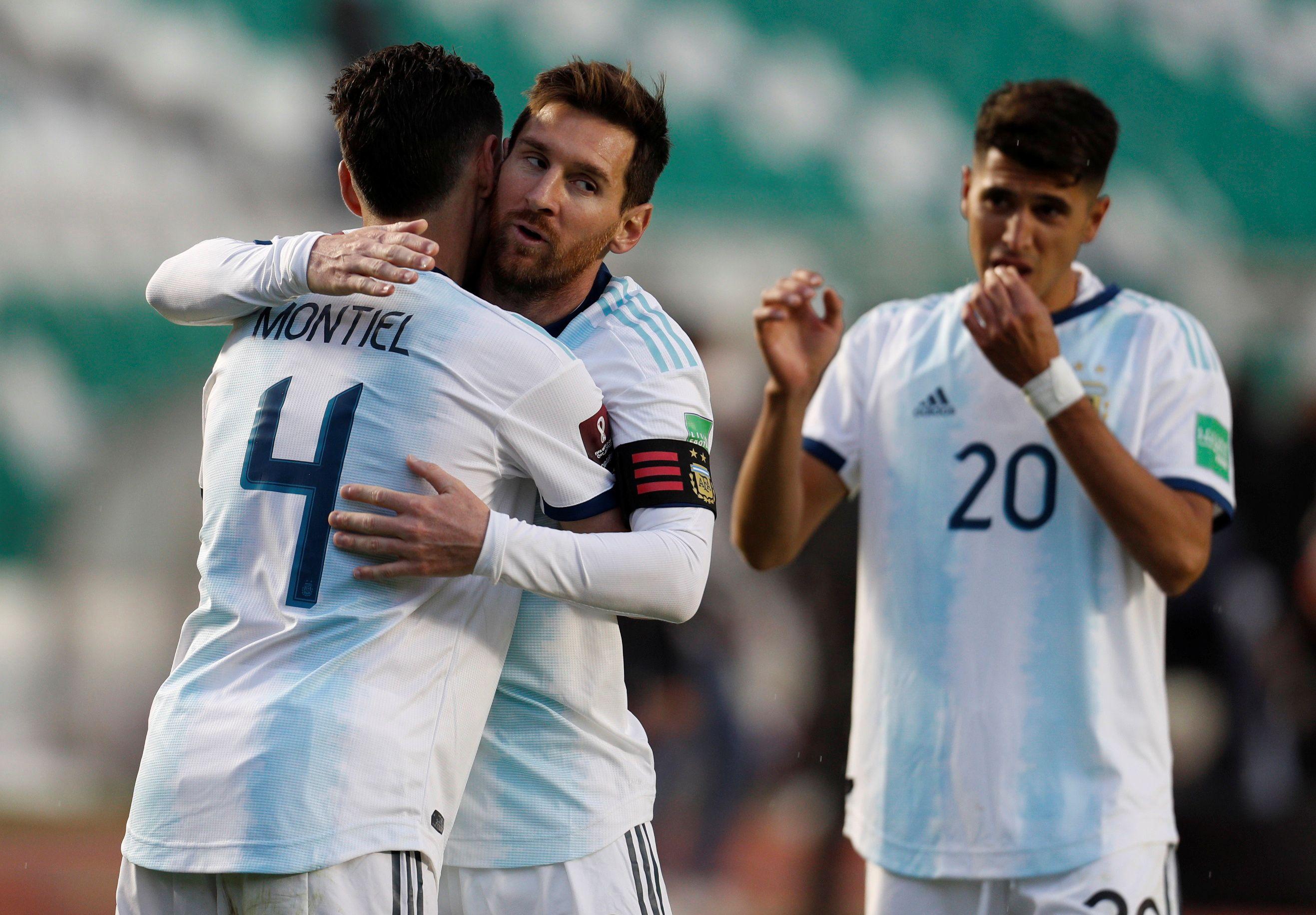 Argentina consiguió hilvanar su segunda victoria en el comienzo de la clasificatoria y encabeza la tabla de posiciones con seis puntos