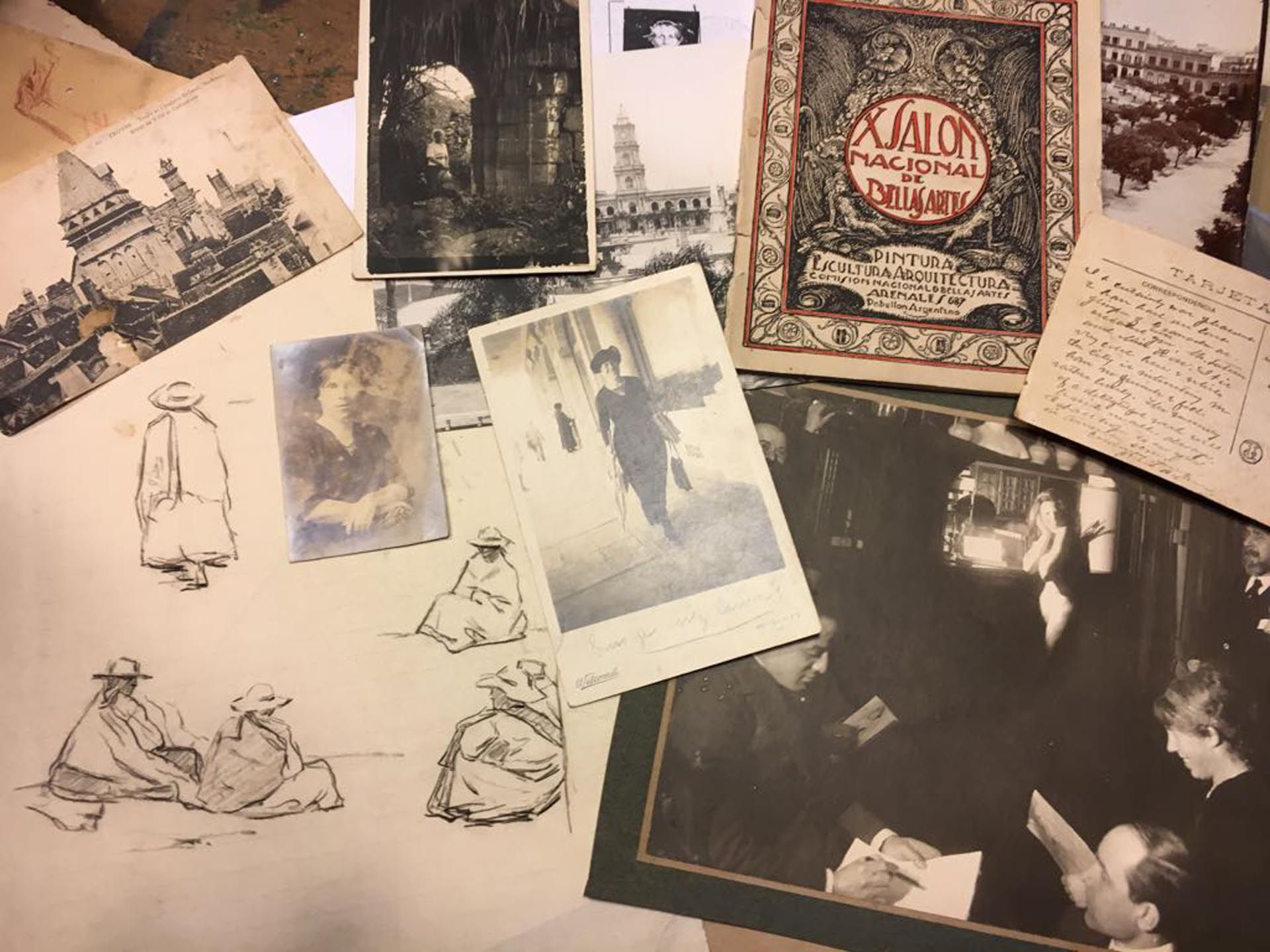 Su bisnieta posee cartas, postales y anotaciones que revelan el aspecto más íntimo de la artista