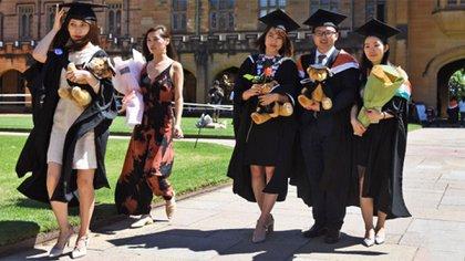 Casi 370.000 alumnos chinos y alrededor de 7.000 hongkoneses se matricularon en universidades estadounidenses en el año académico 2018/2019