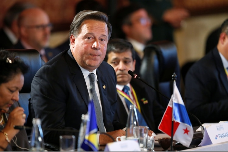Juan Carlos Varela, presidente de Panamá entre 2014 y 2019 (REUTERS/Luisa Gonzalez)