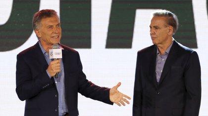 Macri y Pichetto reconocieron la derrota (Foto: Reuters)