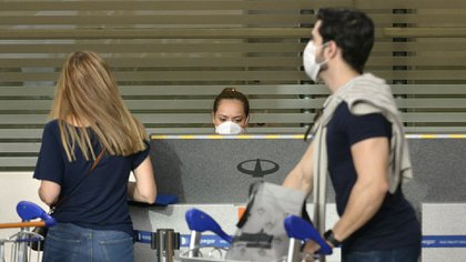 El vuelo proveniente de Cancún será uno de los últimos de repatriación hasta nuevo aviso (Gustavo Gavotti)