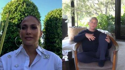 Así lo reveló Jennifer Lopez en el programa de su amiga Ellen DeGeneres. (Foto: TheEllenShow - captura de pantalla)