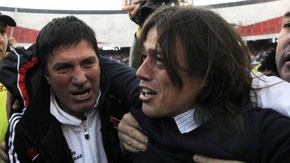 Matías Almeyda fue el director técnico que logró la vuelta de River a la Primera División (NA)