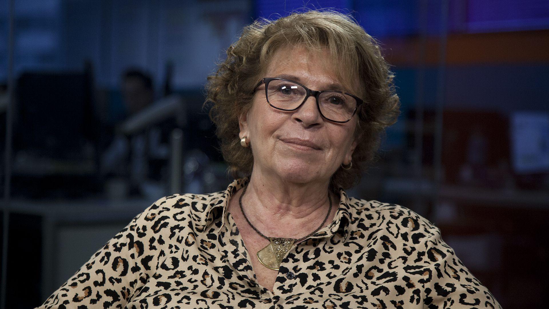 María Teresa Carbano, presidenta de la Fundación El Libro (Foto: Santiago Saferstein)