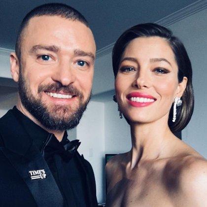 Justin Timberlake junto a Jessica Biel (@justintimberlake)