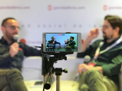 Nicolás Artusi entrevistado por Patricio Zunini