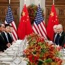 El presidente chino Xi Jinping y su par estadounidense Donald Trump (Reuters)