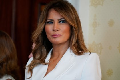 La primera dama de EE.UU., Melania Trump. EFE/Anna Moneymaker