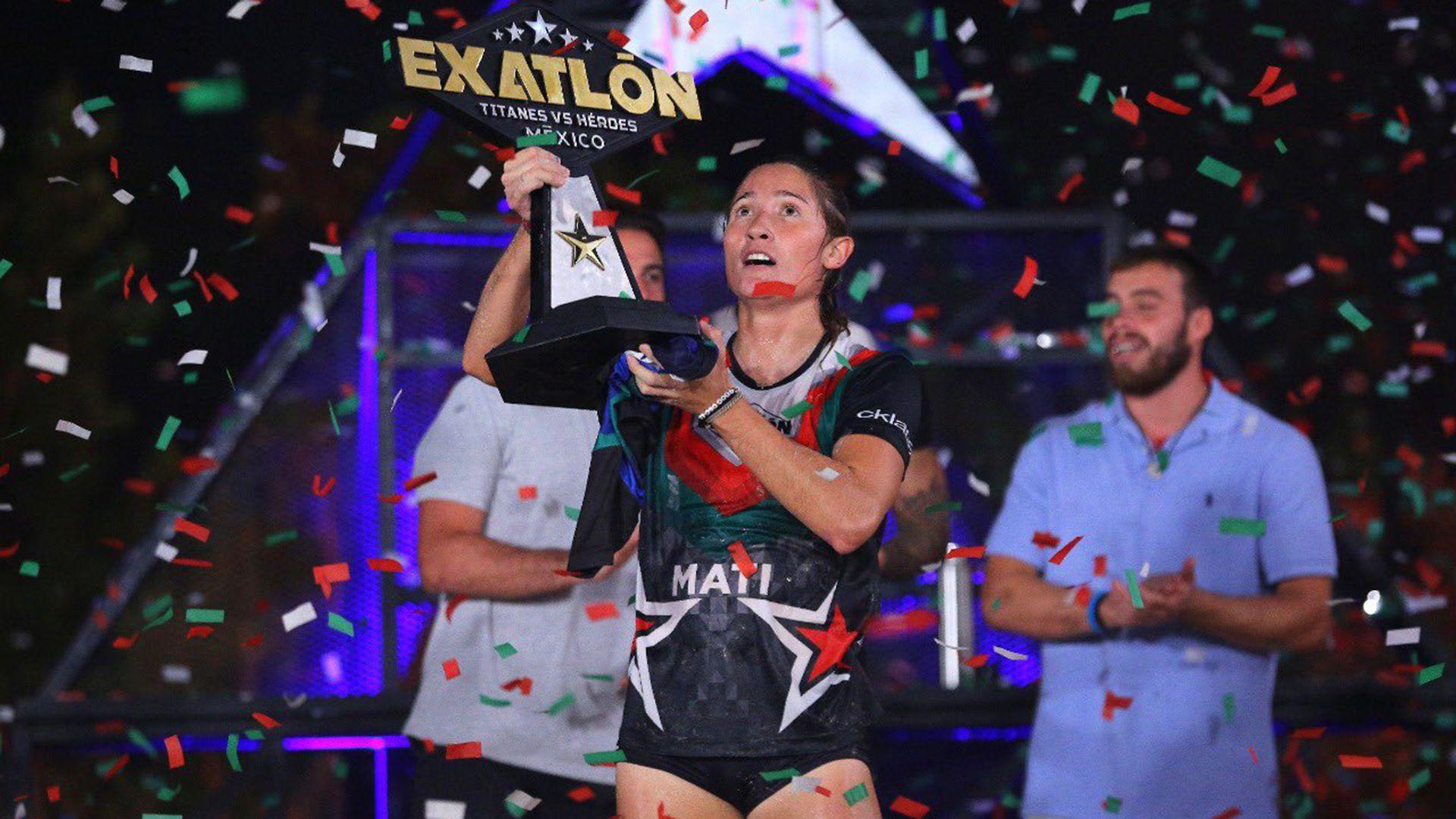 Mati Álvarez - Exatlón México