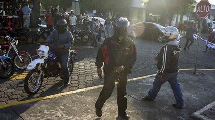 Así se movilizaron las fuerzas de choque del gobierno para reprimir la manifestaciones