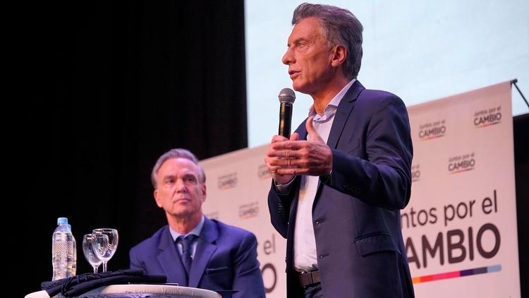 Macri y Pichetto (Prensa Juntos por el Cambio)
